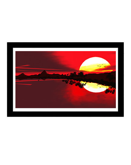 Sunset Framed Art